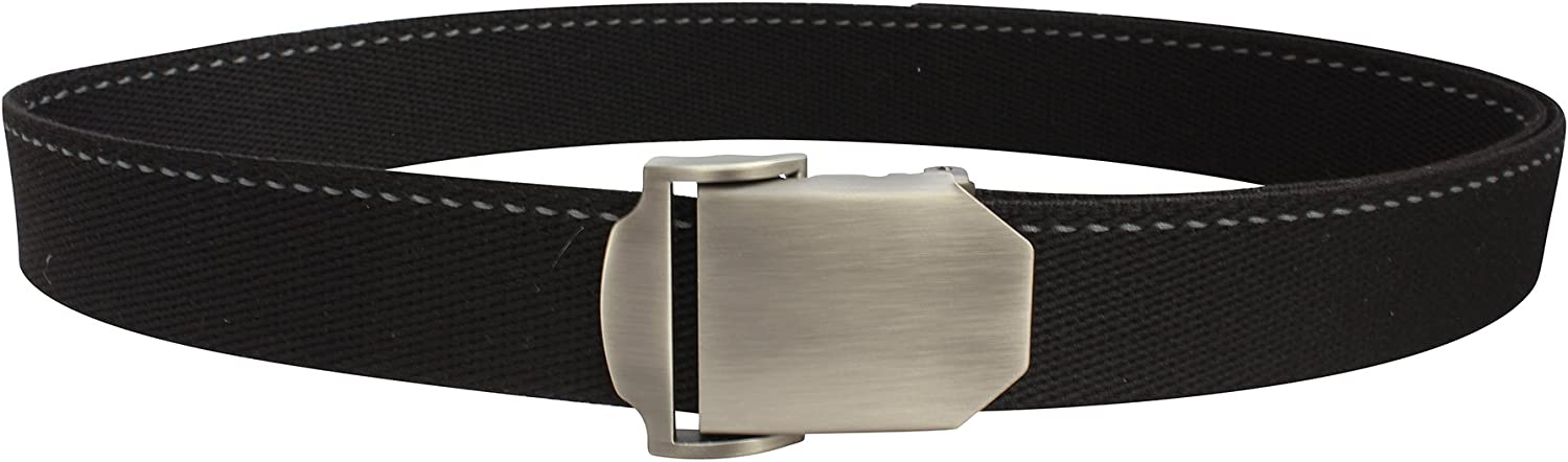 Bison Designs Flat Iron USA Made 38mm Active Webbing Full Steel and Zinc Double Adjust Buckle Belt