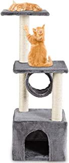 """Mumoo Bear 36"""" Cat Trees and Towers with Scratching Posts Condos Hammock Resting Perch, Indoor Pet Activity Furniture Play..."""