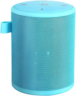 Mini Outdoor Waterproof BT Speaker Portable Stereo Wireless Speakers With Mic TF Card Series Connection Blue