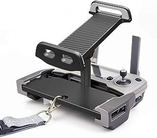UZOPI Mavic Mini Air Pro Platinum Spark Accessories Tablet Holder – Aluminum Adjustable Remote Controller Bracket Mount Ex...
