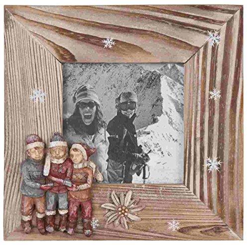 Clayre & Eef 2268 Bilderrahmen Fotorahmen ca. 18 x 18 (10 x 10) cm
