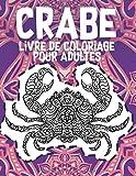 Crabe - Livre de coloriage pour adultes 🦀