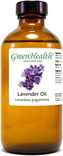 GreenHealth Lavender – 8 fl oz (237 ml) Glass Bottle w/Cap – 100% Pure Essential Oil