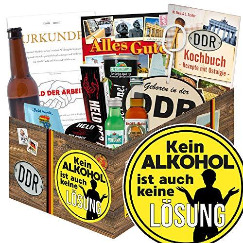 Kein Alkohol / Geschenkpaket Männer / Freund Geschenk