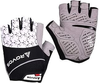 ROVOS Mountain Bikes Gloves Men Half Finger 3D Gel Bikes...