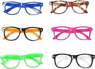 fake plastic glasses