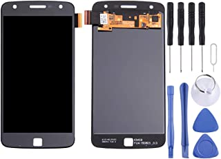 Mobile Phones Communication Accessories LCD Screen + Touch Panel for Motorola Moto Z Play(Black) (Color : White)