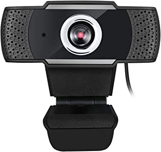 Adesso CyberTrack H4 Webcam 1080P HD USB Webcam with Built-in Microphone