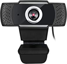 Adesso CyberTrack H4-TAA 1080P HD USB Webcam with Built-in Microphone TAA Compliant