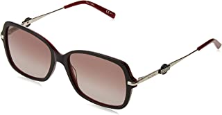 بير كاردين نظارة شمسية للنساء - بني