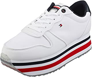 Tommy Hilfiger Piped Womens Flatform Trainers