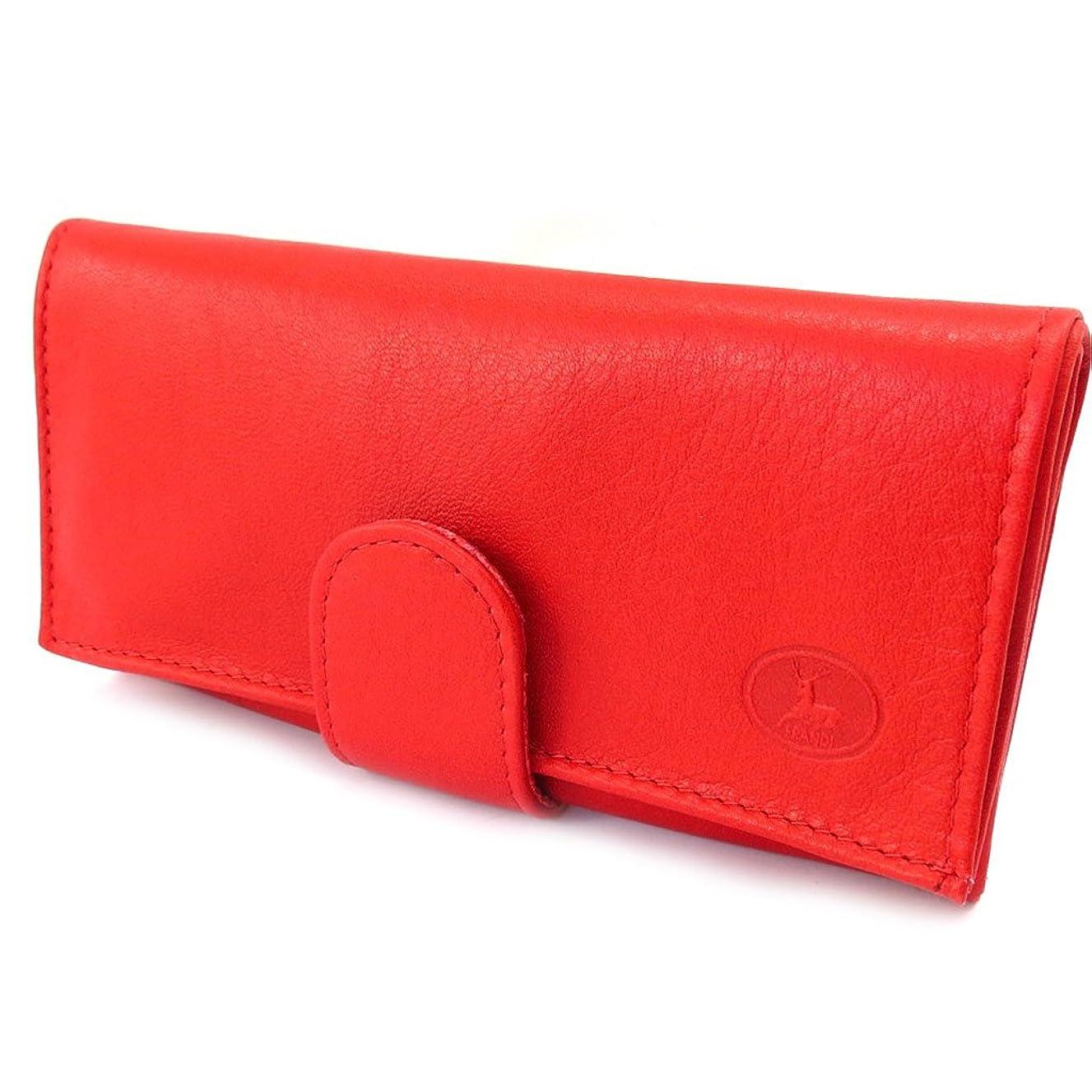 苦抜け目のないまともなFrandi [K4002] - Grand porte-monnaie Cuir 'Frandi' rouge