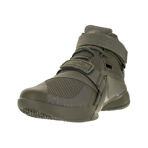 0255ced66813 Nike Men s Lebron Soldier IX PRM Medium Olive 749490-223 (SIZE  ...