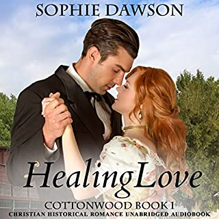 Healing Love     Cottonwood Series, Volume 1              By:                                                                                                                                 Sophie Dawson                               Narrated by:                                                                                                                                 Lori Smith                      Length: 11 hrs and 5 mins     23 ratings     Overall 4.7