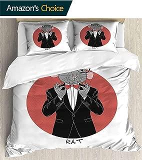 PikaQ Patchwork Bedspread Quilt Sets,Quilt Cover 86