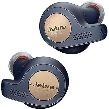 Jabra Elite Active 65T Auricolari, Cuffie Sportive con Funzione Passive Noise Cancelling e Sensore di Movimento per l'Attività Fisica, Chiamate e Musica Wireless, Blu Ramato