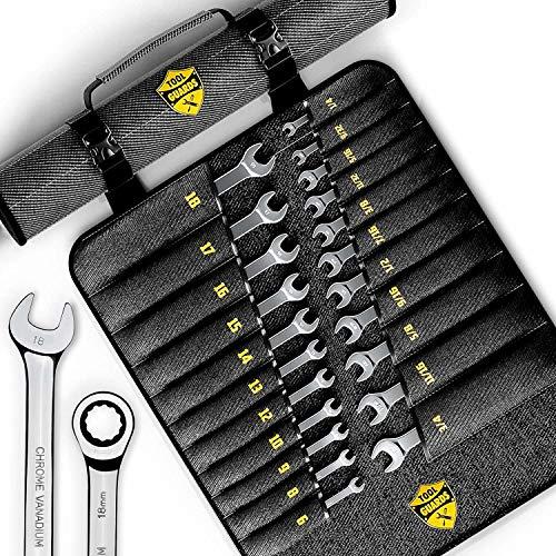 22pcs Ratcheting wrench set - Ratchet Wrench Set
