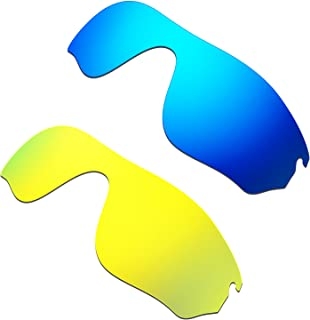 HKUCO Mens Replacement Lenses For Oakley RadarLock Pitch Sunglasses