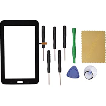 Amazon Com Black Touch Screen Glass Digitizer For Samsung Galaxy Tab 3 Lite Sm T110 7 Wifi Computers Accessories