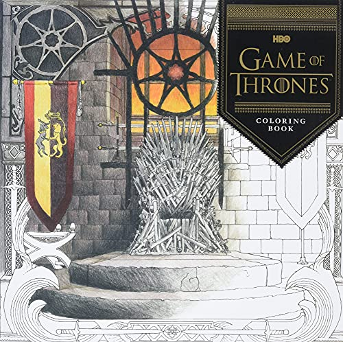 Game Of Thrones. Coloring Book