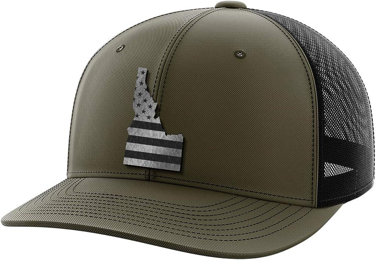 Idaho United Black Patch Hat
