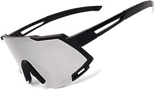 AOKNES Polarized Sports Sunglasses, UV Protection Cycling Sunglass for Women Men Road Bike Glasses, Fishing Running Driving Glasses