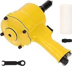 Hemobllo Professional Pneumatic Riveter Riveting Pull Nut Automatic Air Riveter Tool