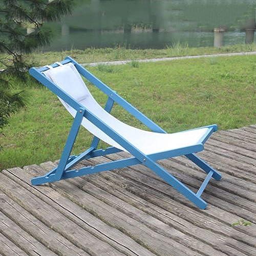Hhor Chaise de Plage Chaises Pliantes Chaises Longues de Balcon repliables (Couleuré   C, Taille   Taille Unique)