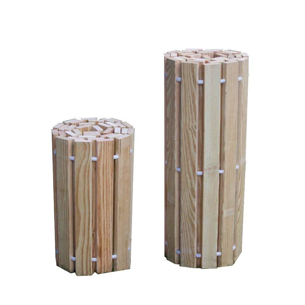 Kunkle Holdings LLC Cartera enrollable de pino tratada a presión al aire libre, 2 pies de ancho, varias longitudes: Amazon.es: Jardín