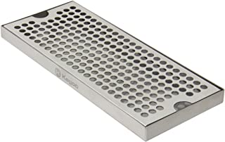 Kegco KC DP-125 Drip Tray, Stainless Steel