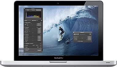 Apple MacBook Pro MD313LL/A Intel Core i5-2435M X2 2.4GHz 4GB 128GB SSD 13.3', Silver (Renewed)