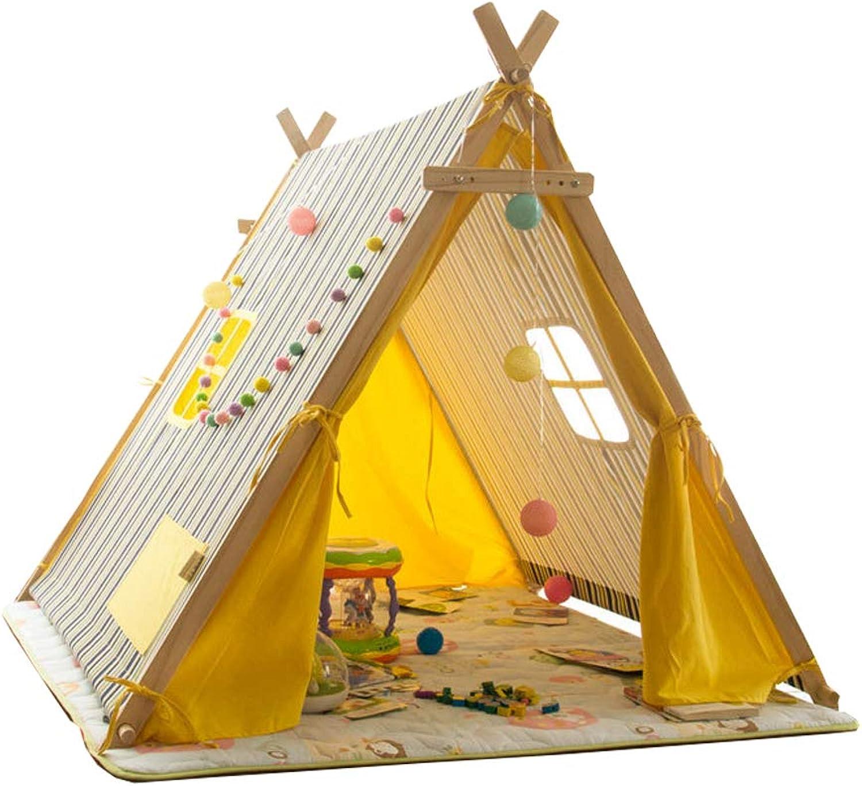 Kinder Kinder Kinder Spielen Zelt Spiel Haus Streifen Großen Raum Zelt Jungen Mädchen 3 Jahre Alt Indoor Outdoor Einfach Zu Demontieren Einfache Mode Urlaub Geschenk(Gelb) B07GJMPGLY 94f370