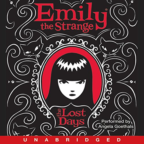 Emily the Strange audiobook cover art