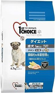 ファーストチョイス ドッグフード 成犬 1歳以上 ダイエット 去勢・避妊した愛犬 小粒 チキン 6.7キログラム (x 1)