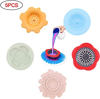 5pcs Acrylic Paint Pouring Strainer, Plastic Sink Strainer Basket for Acrylic Pouring Art Supplies