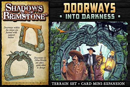 Flying Frog Productions FFP07-T01 Doorways into Darkness: Shadows of Brimstone Exp, Mehrfarbig