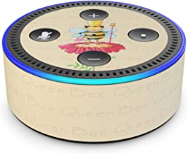 Queen Bee - Skin Sticker Decal Wrap for Amazon Echo Dot (2nd Generation)