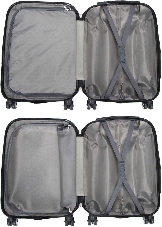 Rigide et Ultra l/éger LIVAN 54 X 36 X 20cm Valise Cabine /à 4 Roues 360/° Polycarbonate et Abs L0809 Angleterre