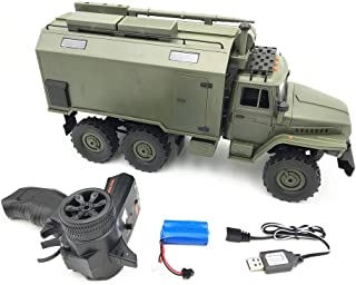 Elevin(TM)👍👍 for WPL B36 Ural 1/16 RTR 2.4G 6WD RC Car Electric Off-Road Military Truck Crawler