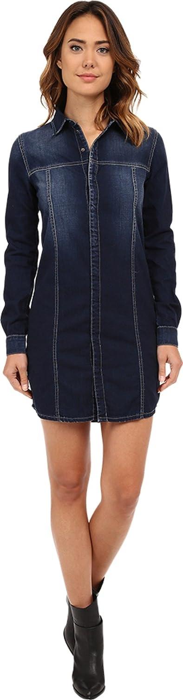 Hudson Women's Tricia Utility Shirtdress Berkeley Dress M (Women's 810)