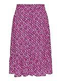 JACQUELINE de YONG Midi 15171518 - Falda de verano con volantes para mujer rosa 40