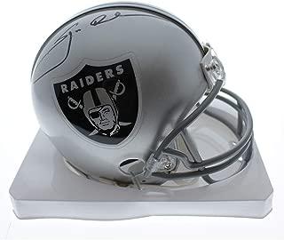 Jon Gruden Oakland Raiders Autographed Signed RIddell Mini Helmet (slight smudge) - PSA/DNA Certified Authentic