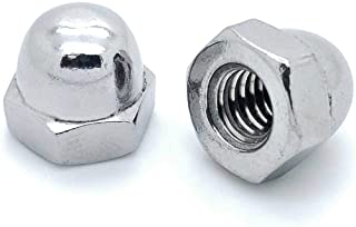 SNUG Fasteners (SNG775) 50 Qty 1/4-20 Stainless Steel Acorn Hex Cap Nuts
