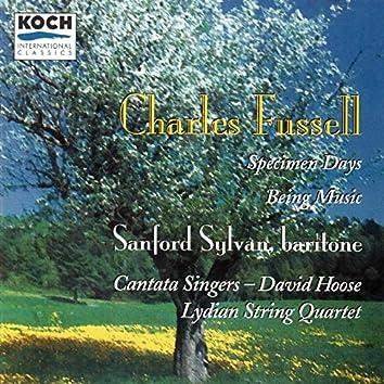 Fussell: Being Music - Specimen Days