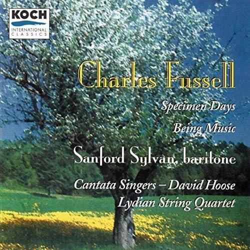 Sanford Sylvan, Lydian String Quartet, David Hoose, Cantata Singers