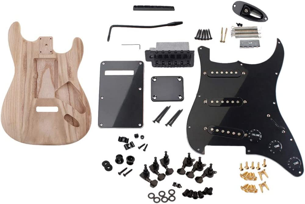 YIJU Quantity limited Handmade Electric Guitar Wood Pl 2021 spring and summer new with Body Anti-scratch SSS
