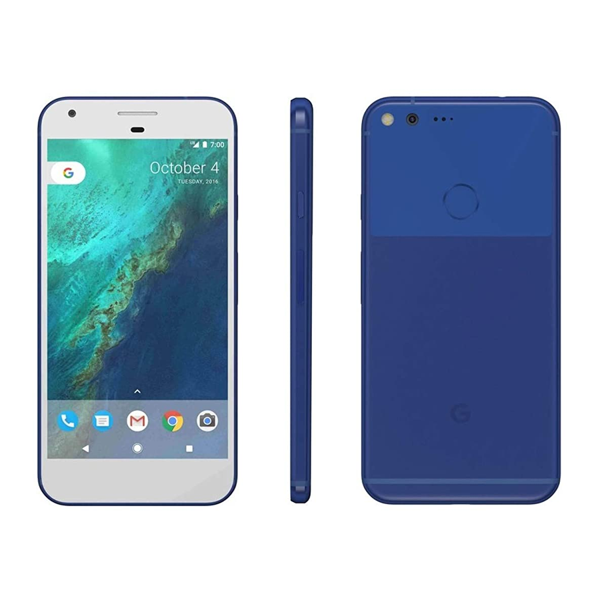 Google G-2PW2100-021-C Pixel XL 32GB Unlocked Phone, Really Blue, 5.5