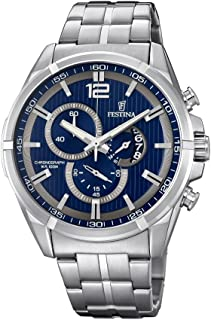 Festina F6865/3 For Men - Analog Casual Watch Stainless Steel