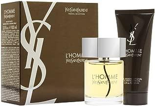 L'Homme Yves Saint Laurent By Yves Saint Laurent For Men. Gift Set( Edt Spray 3.3 Oz & & All Over Shower Gel 3.3 Oz )
