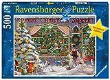 Ravensburger La tienda de navidad Puzzle 500 Pz, Puzzle para adultos